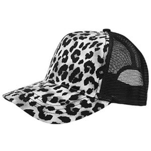 Unisex Fashion Animal Print Trucker Cap-6885